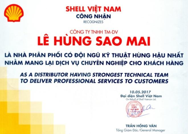 Su kien gioi thieu san pham moi cua Shell Viet Nam va Le Hung Sao Mai hinh anh 3