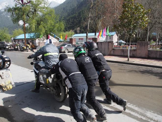 Hanh trinh di den 'noc nha' the gioi cua 40 biker Viet hinh anh 10