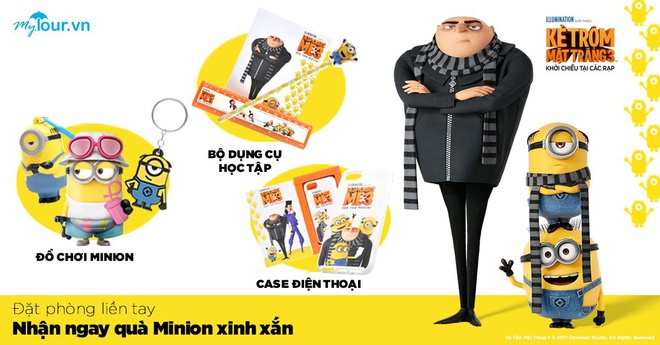 Choi game nhan qua Minions xinh xan tu Mytour hinh anh 1
