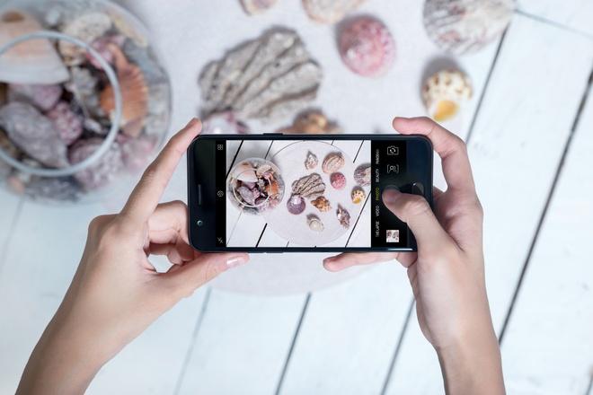 Oppo F3 Lite: Gon nhe, selfie dep, hieu nang tot trong tam gia 6 trieu hinh anh 5