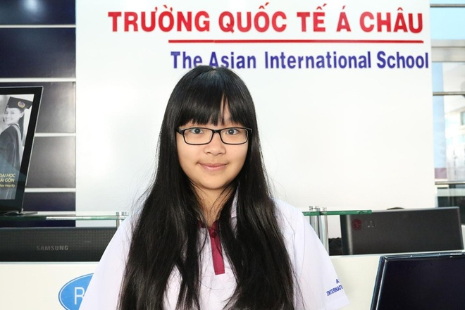 Truong quoc te A Chau anh 1