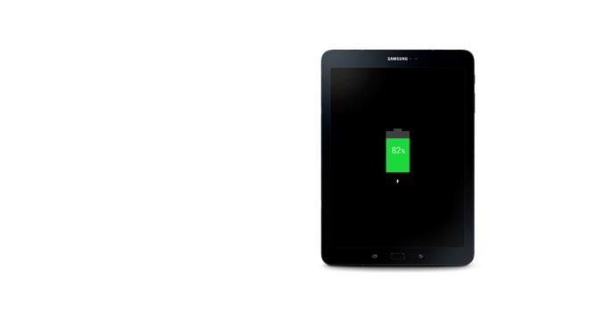 Thu nghiem muc tieu hao pin tren Galaxy Tab S3 hinh anh 3