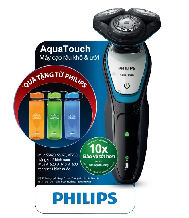 Philips ra mat san pham may cao rau AquaTouch hinh anh 2