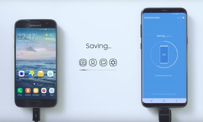 Sao chep nhanh du lieu, mat khau Wi-Fi tren Galaxy S8 hinh anh 2