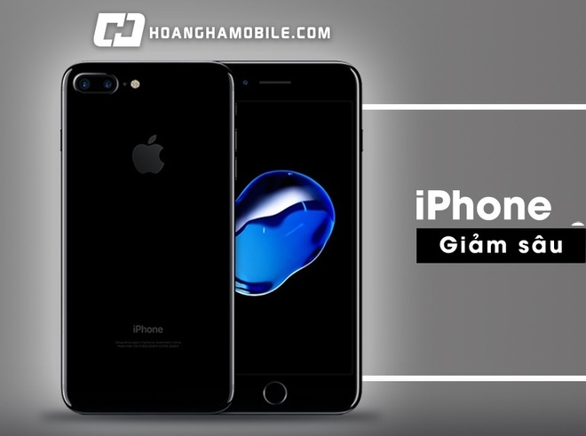 iPhone 7 chinh hang giam manh, iPhone 6 32 GB 'tang nhiet' hinh anh