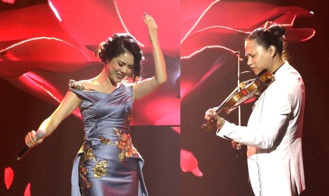 Thu Phuong trinh dien hit 'Giu lai hanh phuc' tren nen violin hinh anh
