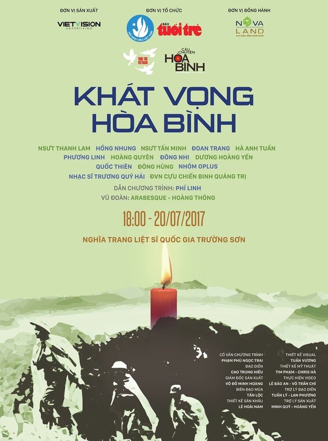 Thanh Lam, Hong Nhung cung dan em hoa giong o nghia trang Truong Son hinh anh 5