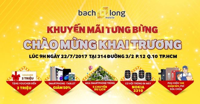 Bach Long Mobile giam 2 trieu dong dip khai truong chi nhanh thu 12 hinh anh 1