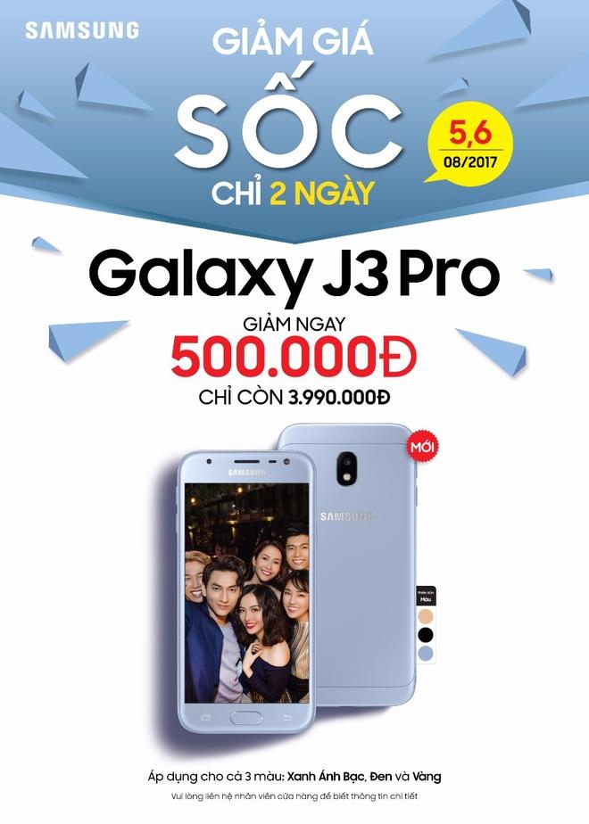 Galaxy J3 Pro anh 2