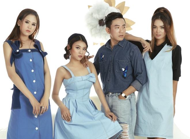 Thiet ke thu dong dam net co dien cua MTV Fashion Designer Group hinh anh