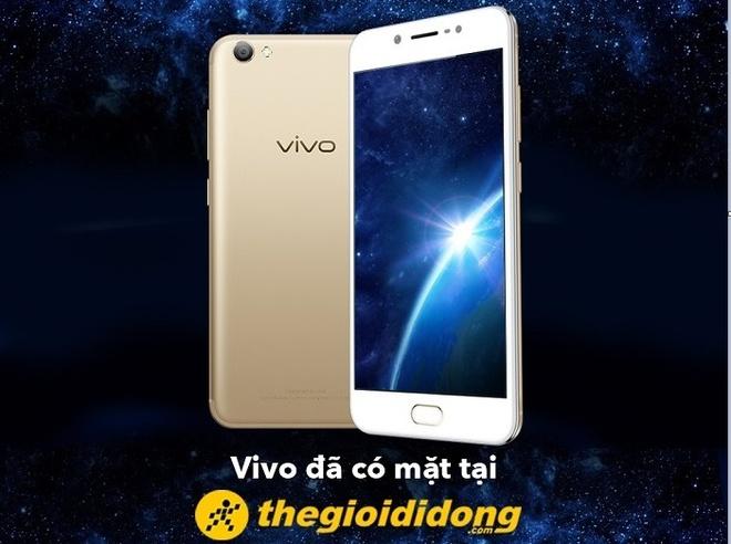 Vivo chinh thuc hop tac voi The Gioi Di Dong mo rong mang luoi hinh anh
