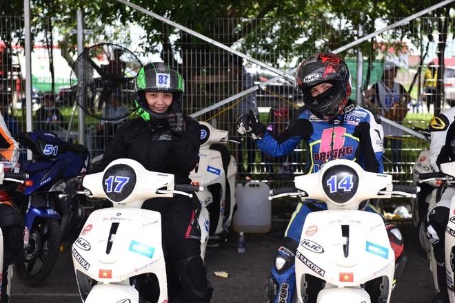Chang 2 giai dua xe the thao Yamaha GP 2017 sap do bo Da Nang hinh anh 2