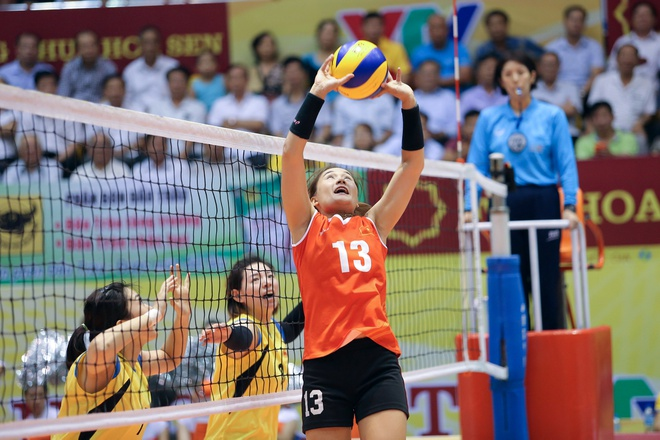 Hoa khoi bong chuyen Linh Chi va giac mo vang SEA Games cho Viet Nam hinh anh