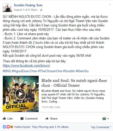 Blade and Soul: Su menh nguoi duoc chon anh 2