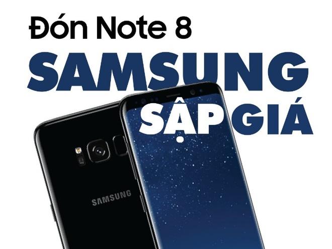 Don Note 8, loat smartphone Samsung chinh hang giam toi 4 trieu dong hinh anh 1
