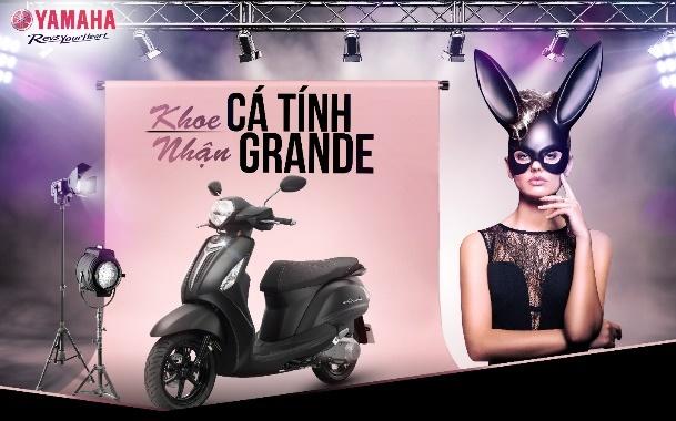 Cover phong cach Ariana Grande, nhan xe may Yamaha hinh anh 2