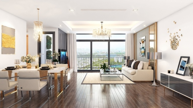 Vinhomes Green Bay - The Residence: Can ho xanh cho cac gia dinh tre hinh anh