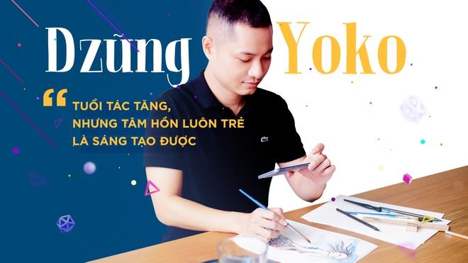 Dzung Yoko: 'Tuoi tac tang, nhung tam hon luon tre la sang tao duoc' hinh anh