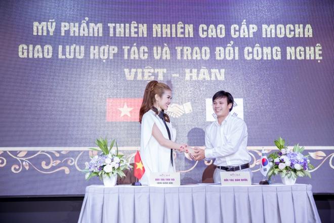 Mocha ung dung cong nghe Viet - Han vao san xuat my pham hinh anh 1