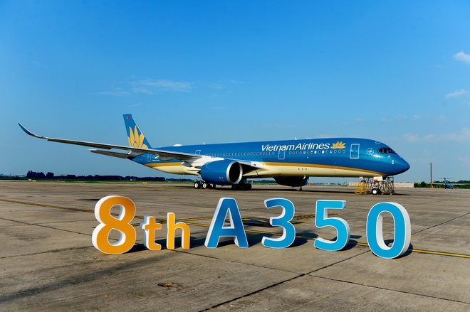 Can canh sieu may bay A350-900 thu 8 cua Vietnam Airlines hinh anh