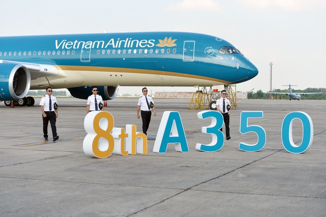 Can canh sieu may bay A350-900 thu 8 cua Vietnam Airlines hinh anh 7