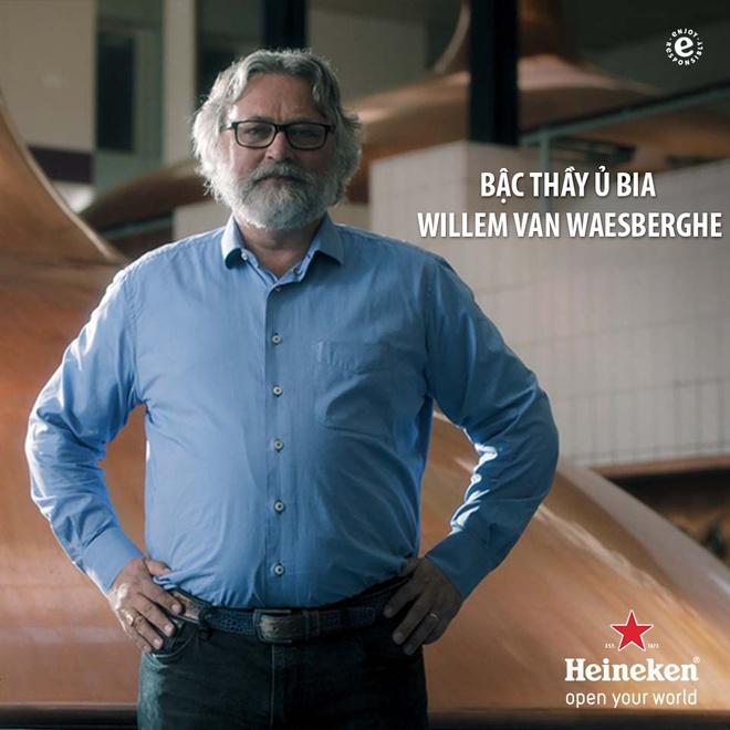 Bac thay u bia cua Heineken sap den Viet Nam hinh anh 1