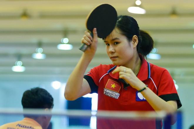 Nguyen Thi Nga: 'Theo the thao, cai kho nhat la vuot qua chinh minh' hinh anh