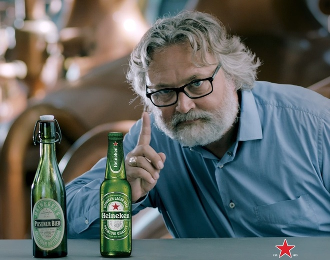 Bac thay u bia cua Heineken sap den Viet Nam hinh anh