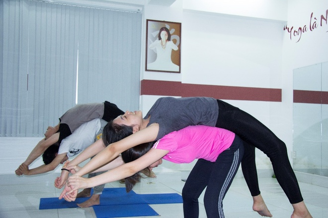 Ngay hoi 'Yoga va suc khoe cong dong' lan dau duoc to chuc tai Can Tho hinh anh 2