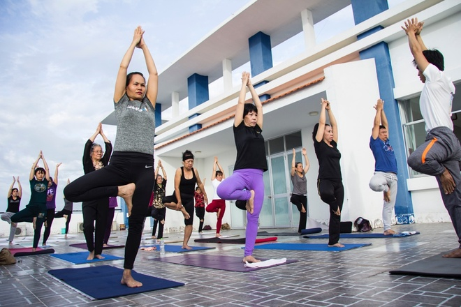 Ngay hoi 'Yoga va suc khoe cong dong' lan dau duoc to chuc tai Can Tho hinh anh 4