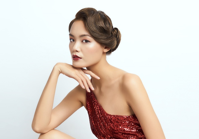 Hang Nguyen, Le Thanh Thao tat bat chuan bi cho 'The Power of Beauty' hinh anh