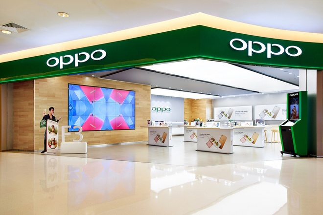 Oppo ruc rich don duong cho dong smartphone cao cap hinh anh