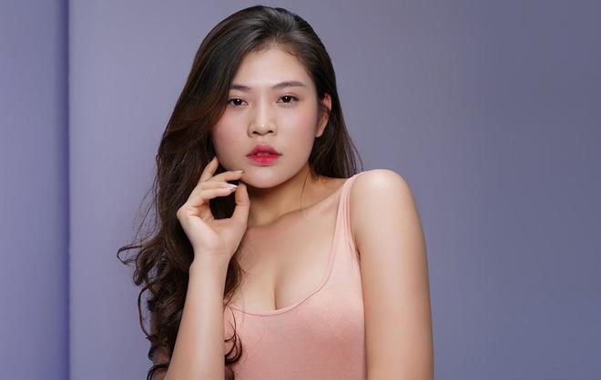 Chung Huyen Thanh lam dep truoc them Hoa hau Hoan vu Viet Nam hinh anh