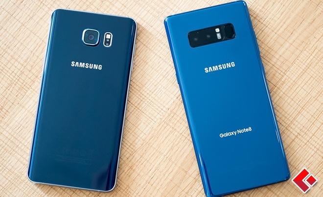5 diem hut nguoi dung cua Samsung Galaxy Note 8 hinh anh 1