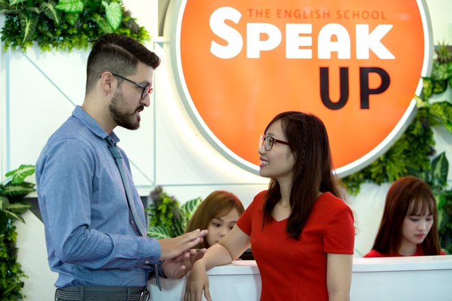Hoc tieng Anh theo cach cua nguoi chau Au tai Speak Up hinh anh