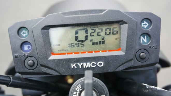 Danh gia Kymco K-Pipe 125: Xe con tay de lam quen cho gioi tre hinh anh 2