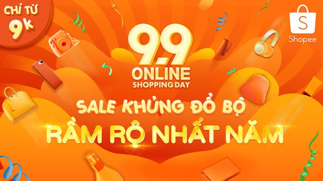 Co hoi mua hang gia tu 9.000 dong voi '9.9 Online Shopping Day' hinh anh