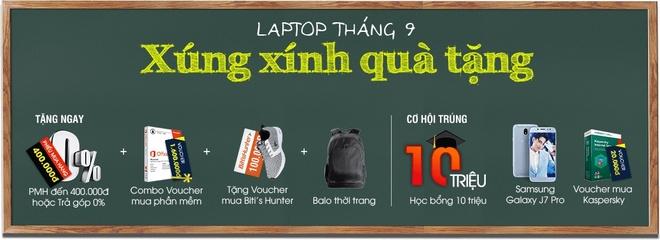 FPT Shop tang bo qua hon 10 trieu dong cho khach mua laptop hinh anh 1