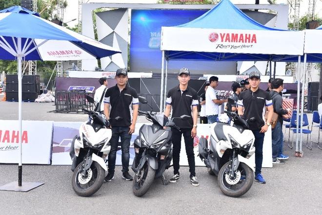 Yamaha gioi thieu NVX mau moi, nang cap phuoc dau tai Can Tho hinh anh 2