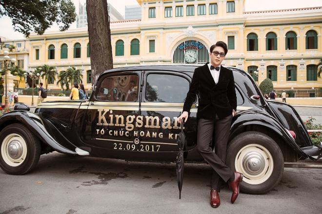 B Tran, Ngoc Thao sang trong ben dan xe co Kingsman hinh anh 1