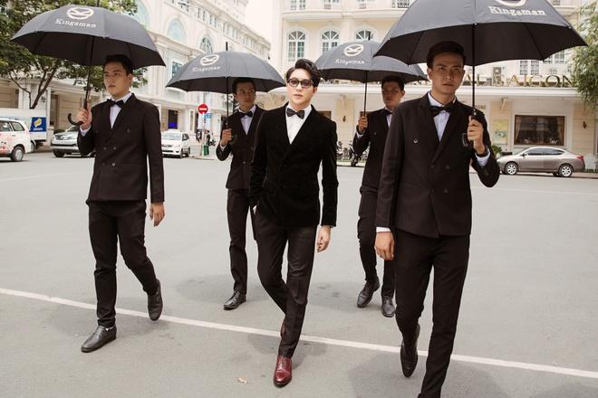 B Tran, Ngoc Thao sang trong ben dan xe co Kingsman hinh anh 3