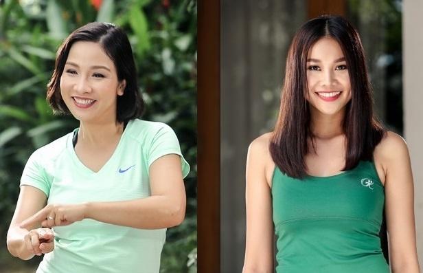 Thanh Hang, My Linh chia se bi quyet tre khoe voi '5 phut moi ngay' hinh anh