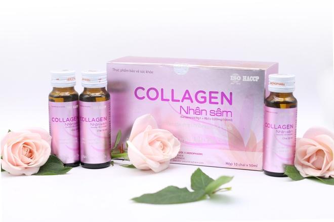Collagen nhan sam - giai phap cho lan da tre dep hinh anh