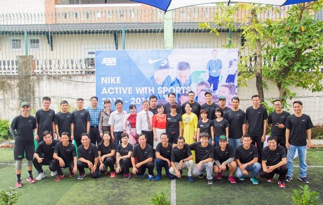 Nike - SSA Sports dong to chuc chuong trinh 'Nang dong cung the thao' hinh anh