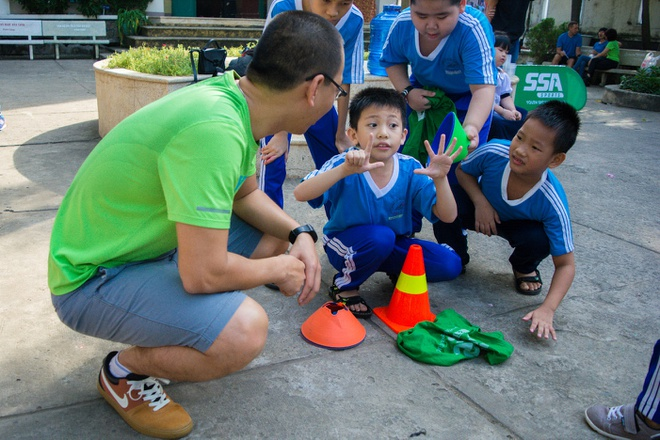 Nike - SSA Sports dong to chuc chuong trinh 'Nang dong cung the thao' hinh anh 2