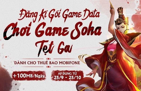 MobiFone mien phi data mot thang cho game thu VTC va Soha Game hinh anh