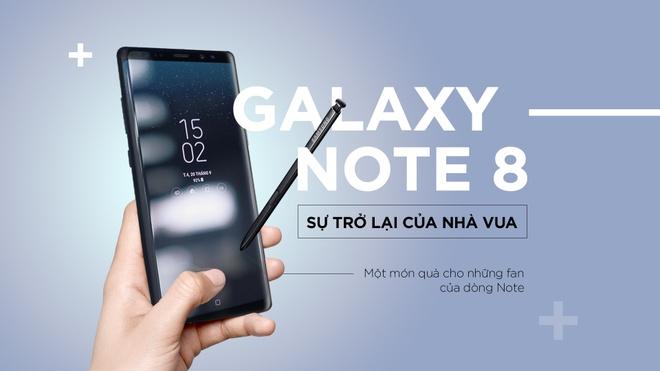 Galaxy Note 8: Su tro lai cua nha vua hinh anh