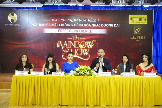 The Rainbow show anh 1