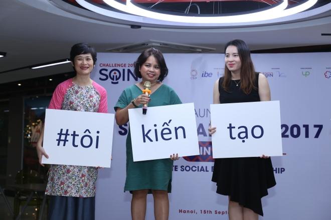 Khoi dong cuoc thi 'Sang tao xa hoi' cho ban tre dam me khoi nghiep hinh anh 1