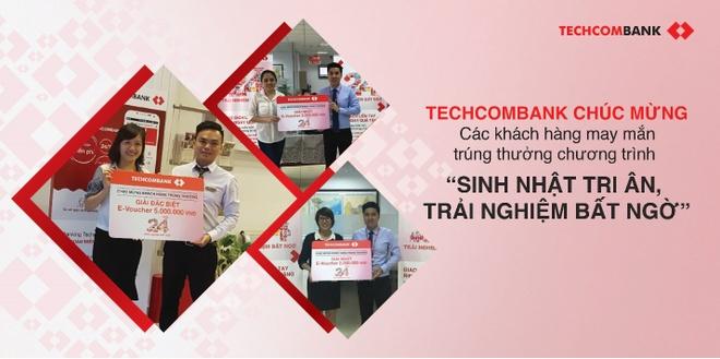 Don tuoi 24, Techcombank danh nhieu uu dai lon cho khach hang hinh anh 2